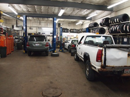 Suburban Car and Truck Repair - our 20,000 square foot service bay